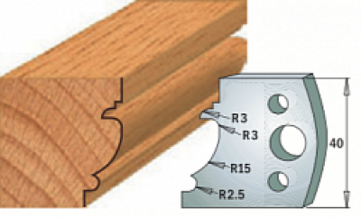 Комплекты ножей и ограничителей серии 690/691 #121