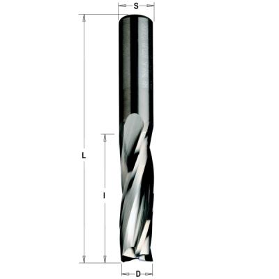 Серия 193 Z3 спиральные фрезы верхний рез