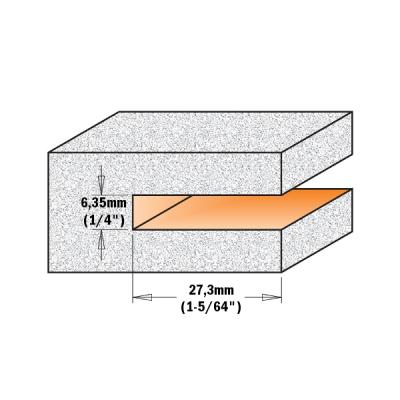 Фрезы пазовые Z4 для искусственного камня