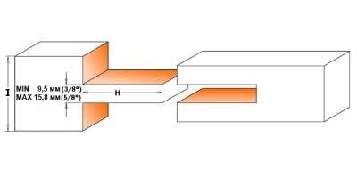 Фреза для формирования шипа наборная
