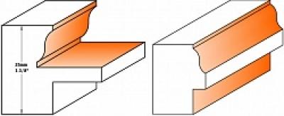 Фрезы оконного переплёта и обвязки