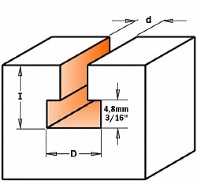 Фрезы для изготовления Т-образных пазов