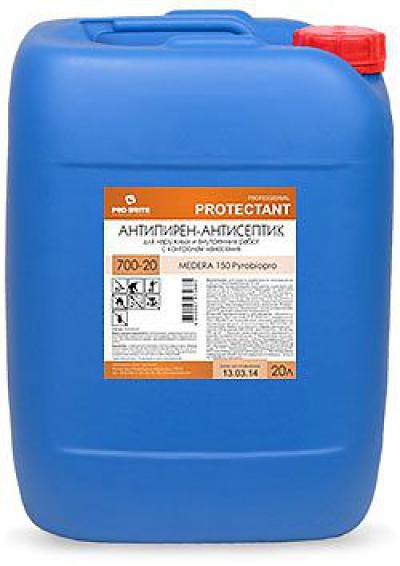 Medera 150 Pyrobiopro Антипирен (I группа огнезащиты) с антисептическими свойствами. Для наружных и внутренних работ. Готовый к применению раствор с контролем нанесения.