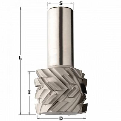 Фрезы алмазные DP с аксиальным углом режущей грани 40°
