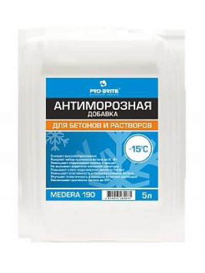 Medera 190 Frostop -15 Многофункциональная добавка для бетонов и растворов при t не ниже -15°С