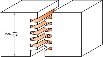 Фреза сращивания для клеевых соединений