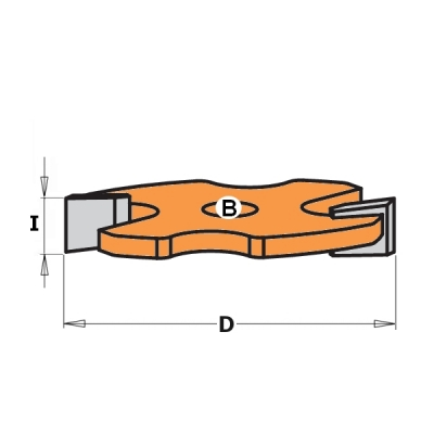 Фрезы пазовые сменные для комплектов - запчасти