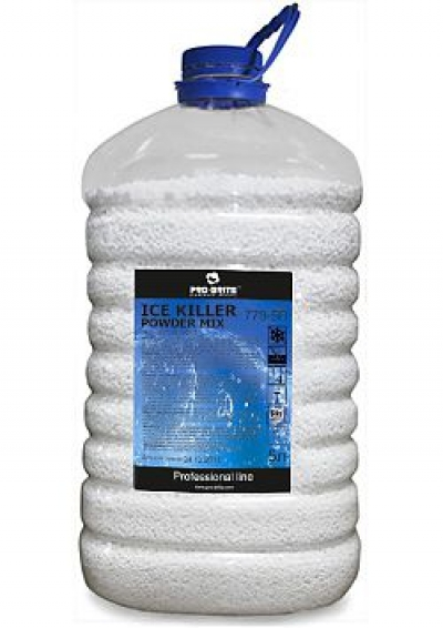 Гранулированный бюджетный антигололедный реагент на основе натрия и кальция- Ice Killer Powder Mix