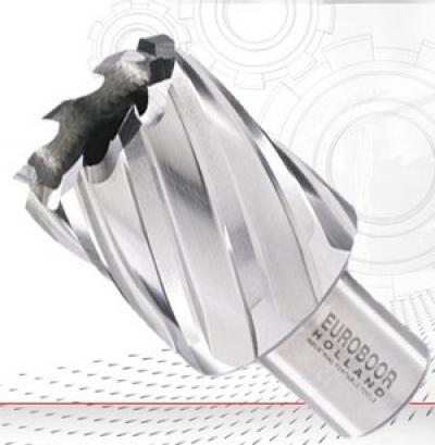 HSS кольцевые фрезы длиной 30 мм. Размеры: Ø12 - Ø100 мм. Хвостовик Weldon