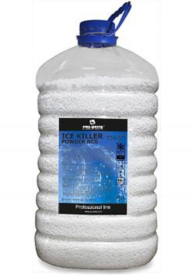 Гранулированный антигололёдный реагент с гранитной крошкой- Ice Killer Powder NCG