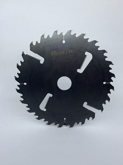 Пила дисковая Ø350 х 50 х 4,0/2,5 Z = (24 + 24) + 4 WoodTec