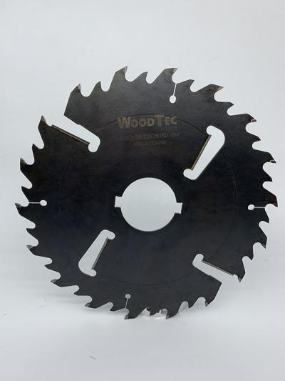Пила дисковая Ø350 х 75 (2KH 14*7) х 3,8/2,5 Z = (18 + 18) + 4 WoodTec