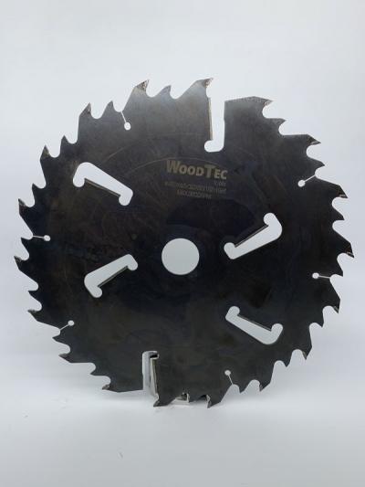 Пила дисковая Ø400 х 50 х 4,2/2,8 Z = (18 + 18) + 4 WoodTec