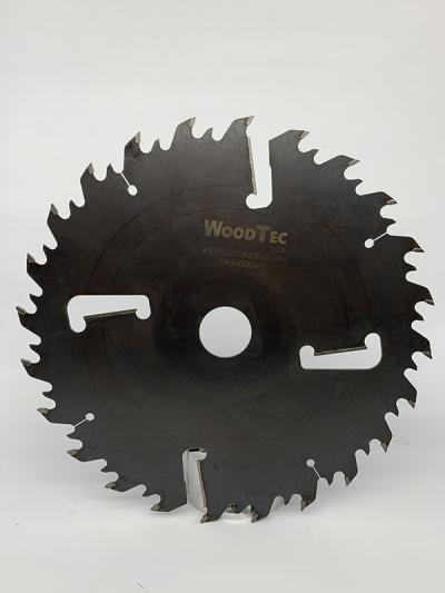 Пила дисковая Ø400 х 50 х 4,2/2,8 Z = (24 + 24) + 4 WoodTec