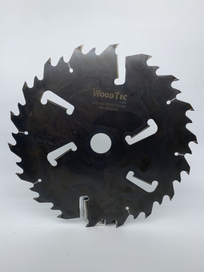 Пила дисковая Ø450 х 50 х 4,6/3,0 Z = (18 + 18) + 6 WoodTec