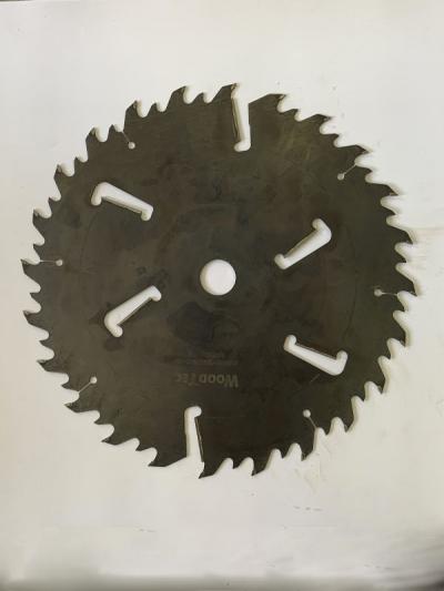 Пила дисковая Ø500 х 50 х 4,8/3,2 Z = (24 + 24) + 6 WoodTec