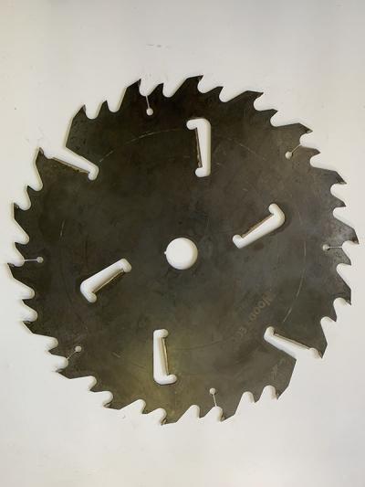 Пила дисковая Ø550 х 50 х 5,1/3,5 Z = (18 + 18) + 6 WoodTec