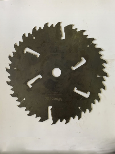 Пила дисковая Ø550 х 50 х 5,1/3,5 Z = (24 + 24) + 6 WoodTec