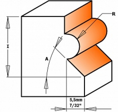 Фреза для изготовления деревянных панелей