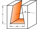 Фрезы ласточкин хвост Z1 D14 S12