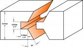 Фреза шип-паз для мебельной обвязки (комплект)