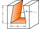 Фрезы ласточкин хвост Z2 D14 S10