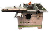 Круглопильный станок с торцовочной кареткой WoodTec C 75 NEW