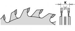 Серия 289 подрезные регулируемые пилы «сэндвич» с покрытием CHROME