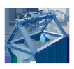Неприводной двухопорный разматыватель РМСЦ-1250