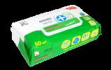 Салфетки влажные антибактериальные inshiro экстракт зелёного чая, 60шт/упак