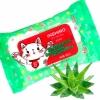 Салфетки влажные детские inshiro экстракт алоэ, 15шт/упак