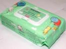 Салфетки влажные детские inshiro экстракт алоэ и витамина Е, 60шт/упак