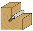 Фрезы пазовые для уплотнителя 2х-сторонние