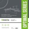 Подрезная пила WoodTec для форматно-раскроечных станков Ø120 х 3,1/4,1 х Ø22 х 24Т