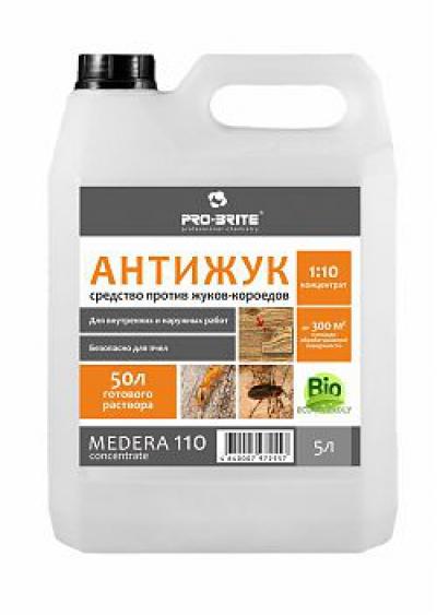 Medera 110 Anti-bug Concentrate Антижук, инсектицид для древесины. Для наружных и внутренних работ. Концентрат 1:10.