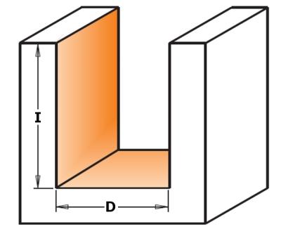Серия 190 Z2+2 и Z3+3 спиральные фрезы двунаправленный рез пазовые