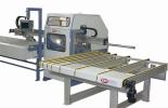 Автоматизированный пильный центр для раскроя пластмассовых полых профилей  BDM PSZ - 100