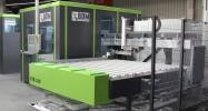 Автоматический многофункциональный центр для  комплексной механической обработки оконных и дверных профилей из ПВХ и алюминия BDM FTB - 100