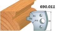 Комплекты ножей и ограничителей серии 690/691 #011