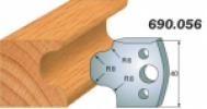 Комплекты ножей и ограничителей серии 690/691 #056