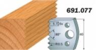 Комплекты ножей и ограничителей серии 690/691 #077