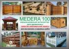 Medera 100 Антисептик-консервант для максимальной защиты древесины. Для наружных и внутренних работ. Готовый к применению раствор